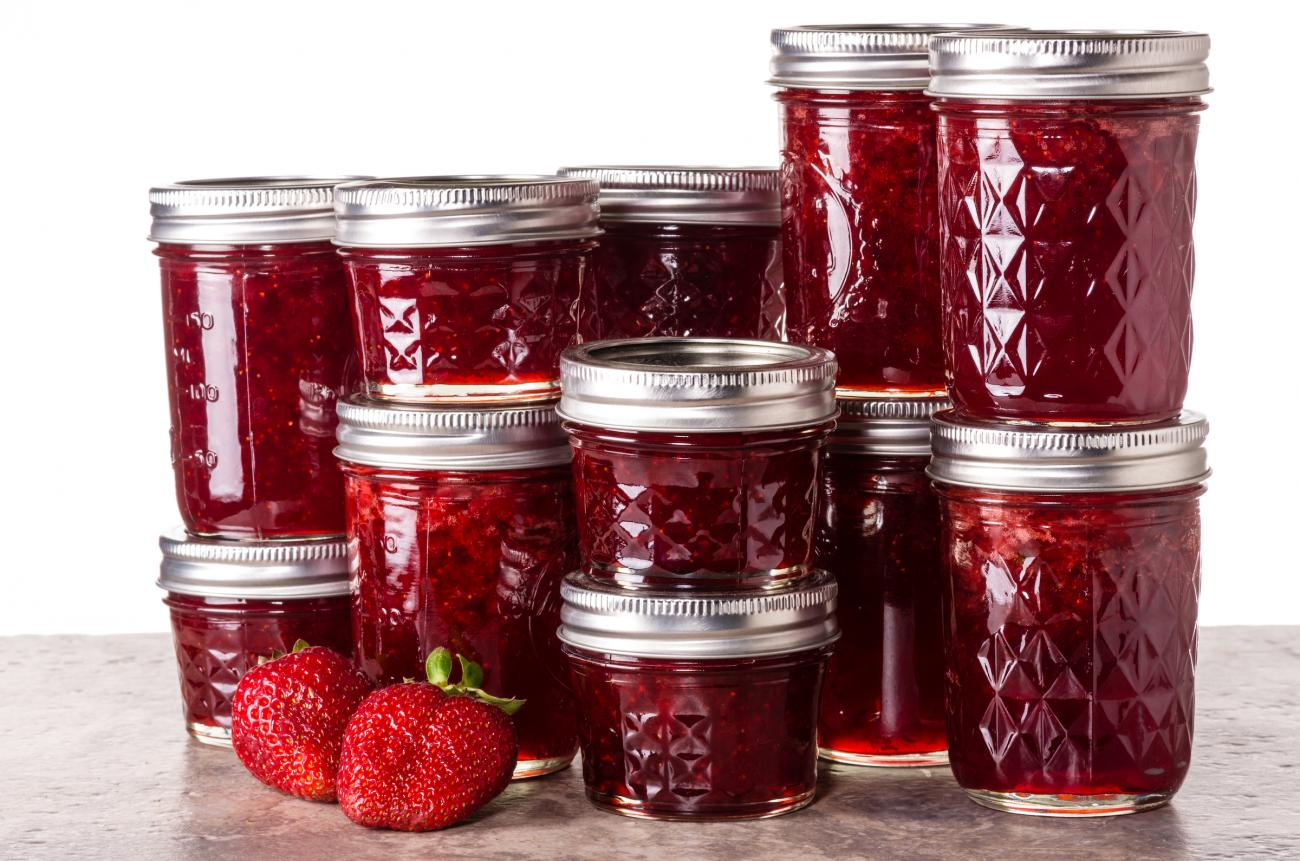 Strawberry Jam (Canned)