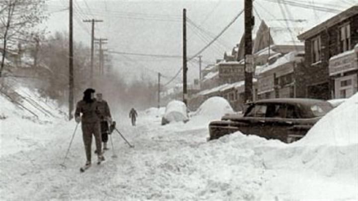Thanksgiving Snowstorm 1950