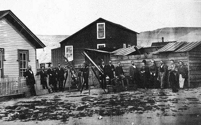 The Eclipse Party of 1878 and Thomas Edison