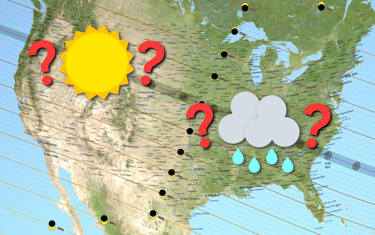 Total Solar Eclipse 2017 Weather | Old Farmer's Almanac