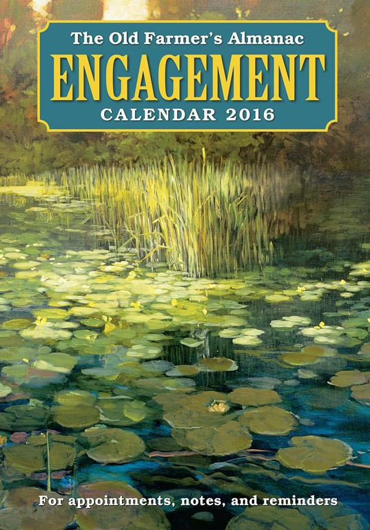 2016 Engagement Calendar Cover