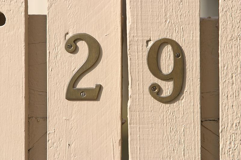 29 Leap Year Fence