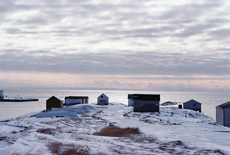 Ice-Fishing Huts