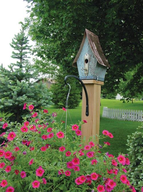 Great Garden Ideas: What's Old is New Again. Birdhouse