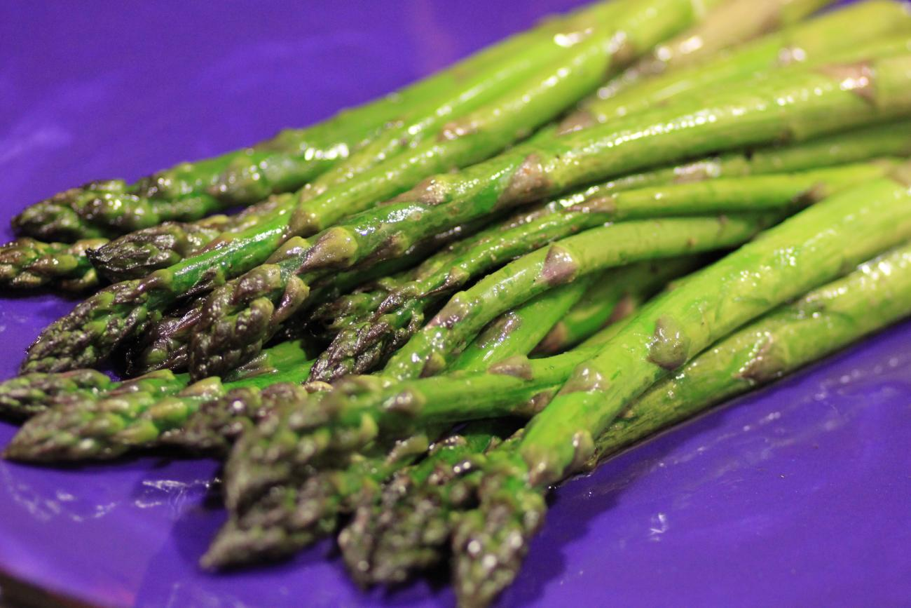 Fresh-Cut, Roasted Asparagus