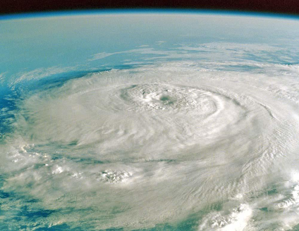 Hurricane: A View from Outer Space