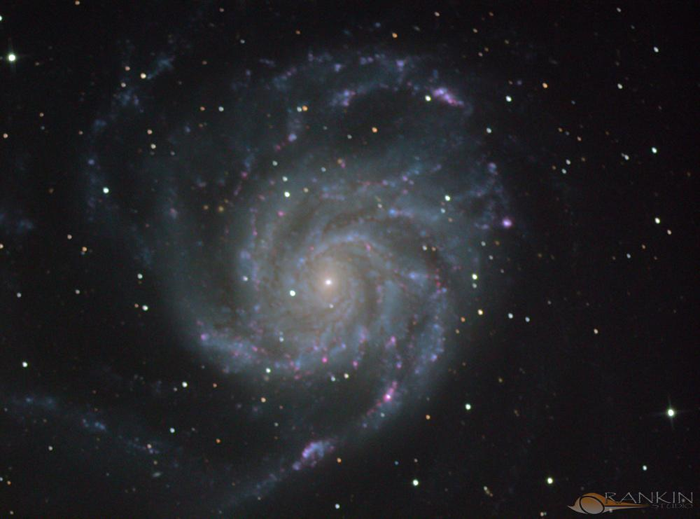 A Pinwheel in the Sky - M101
