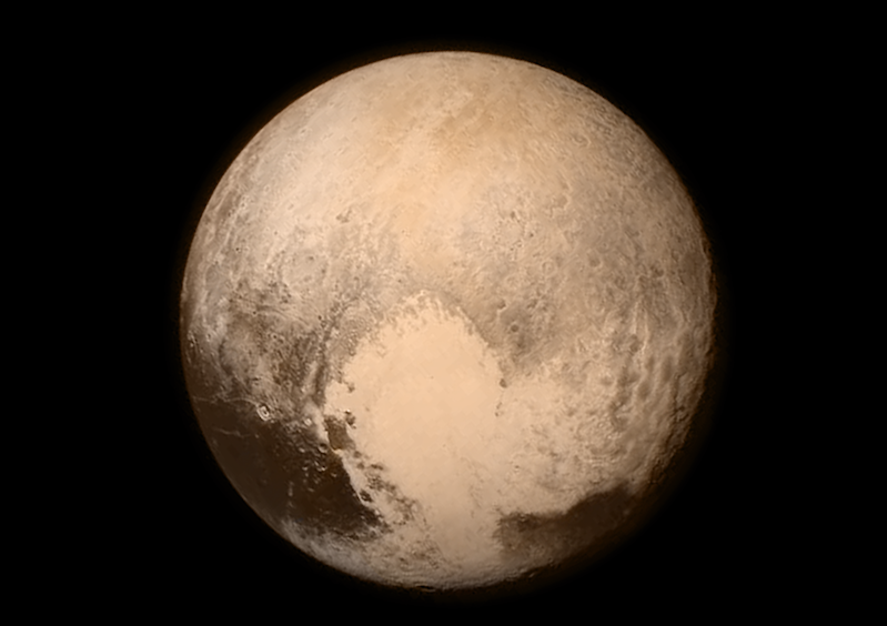 Pluto by New Horizon Spacecraft
