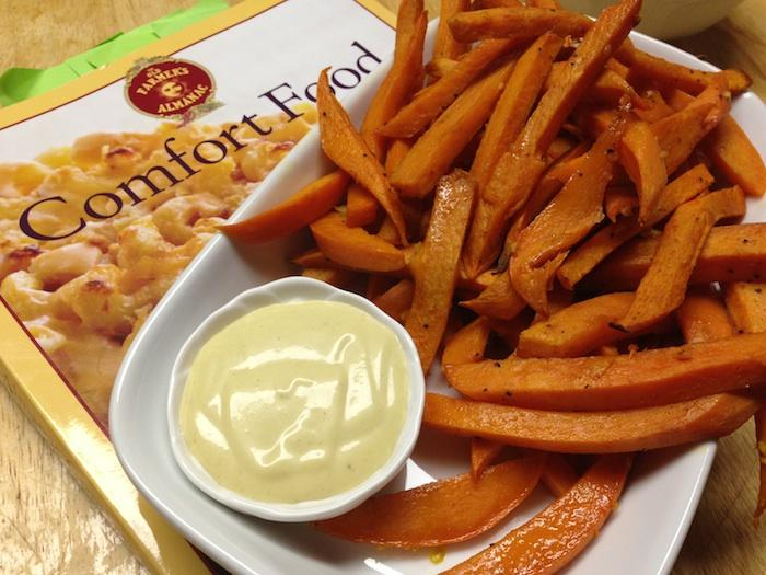 Sweet Potato Oven Fries Comfort Food