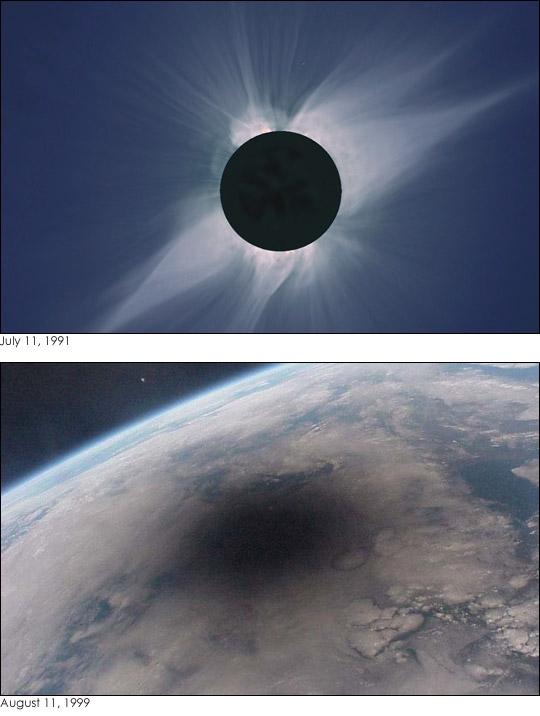 Total Eclipses of Sun