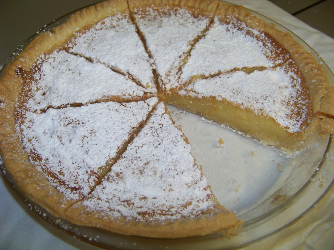 Recipe for Sandy's Lemon Chess Pie