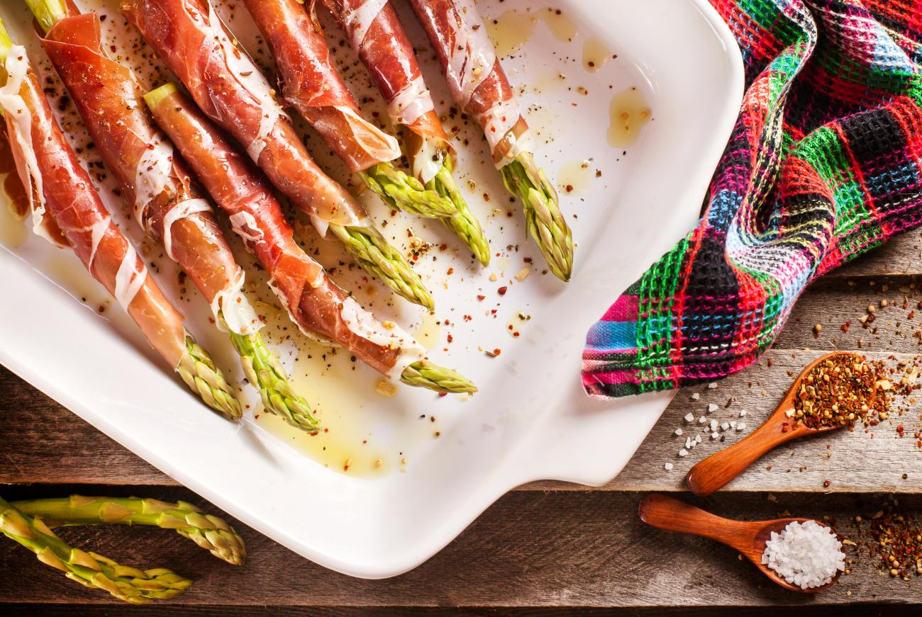 Recipe for Roasted Prosciutto-Wrapped Asparagus
