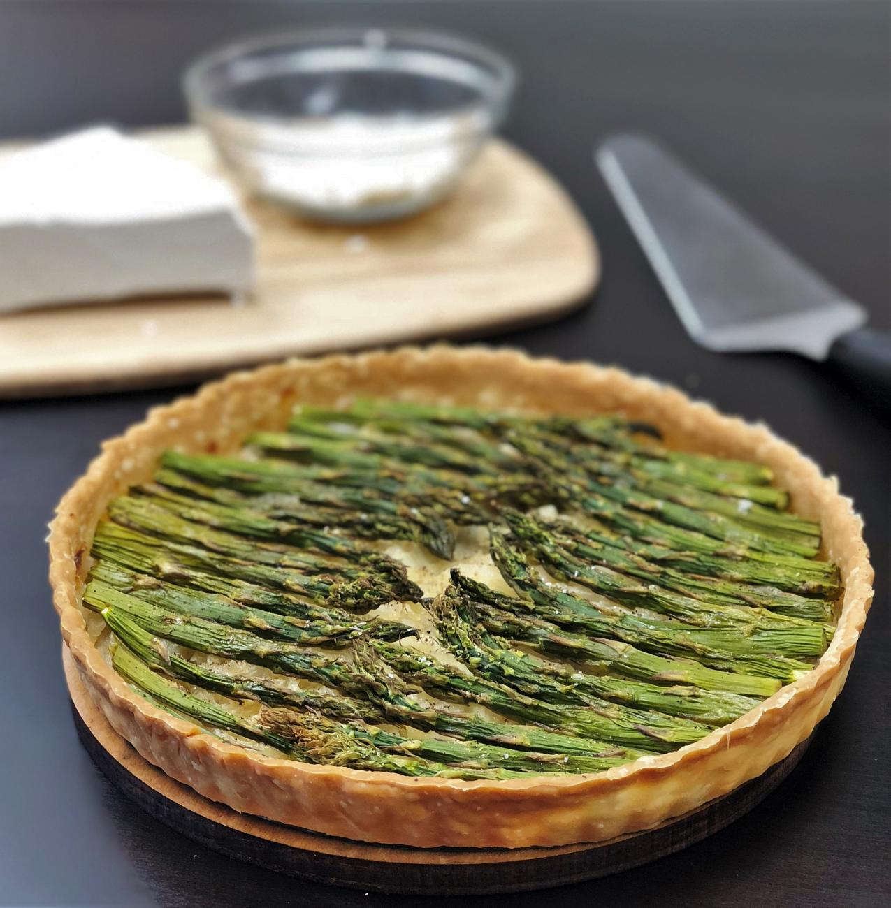 Recipe for Asparagus Tart