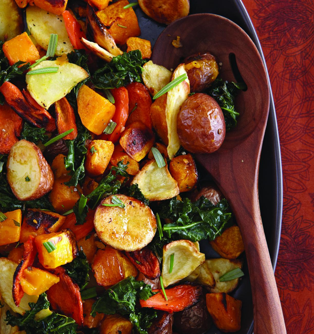 Recipe for Roasted Autumn Vegetables