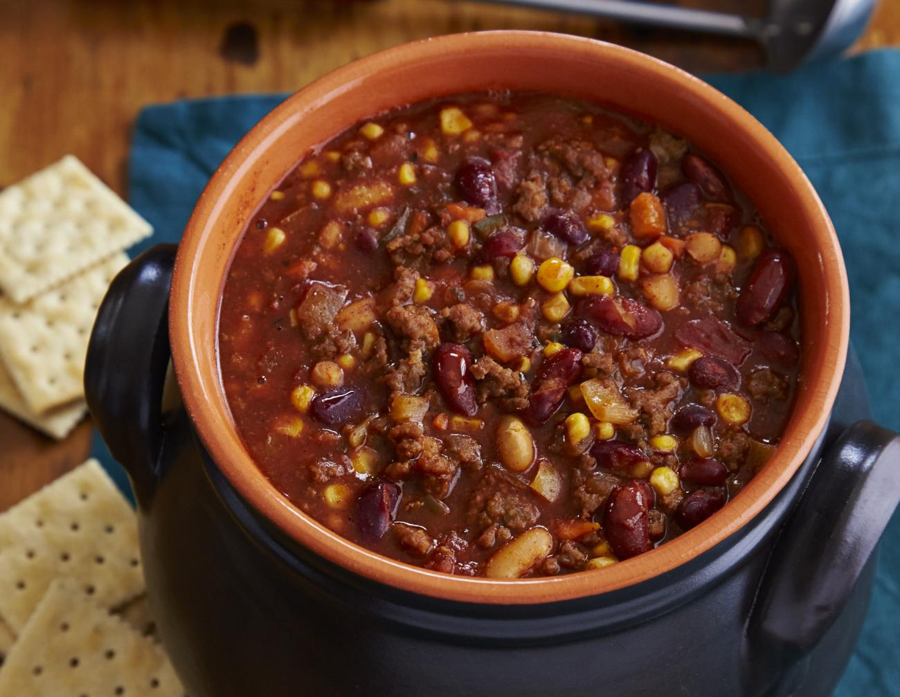 Recipe for Easy Bacon Sausage Chili