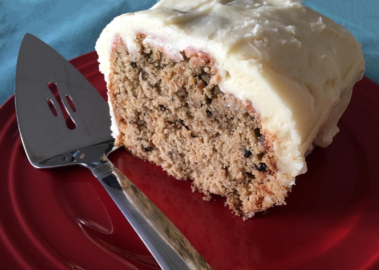Recipe for Beet Cake with Cream Cheese Frosting