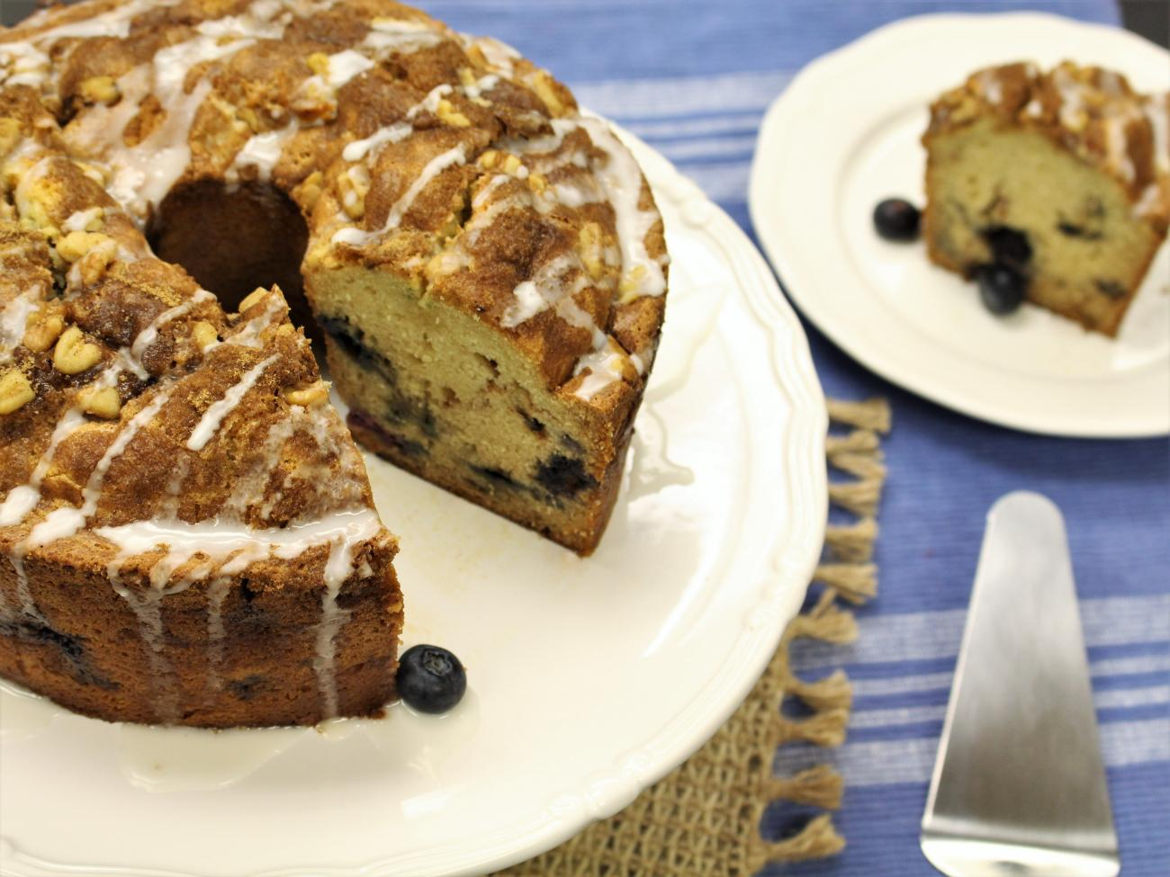 Recipe for Blueberry Streusel Coffee Cake