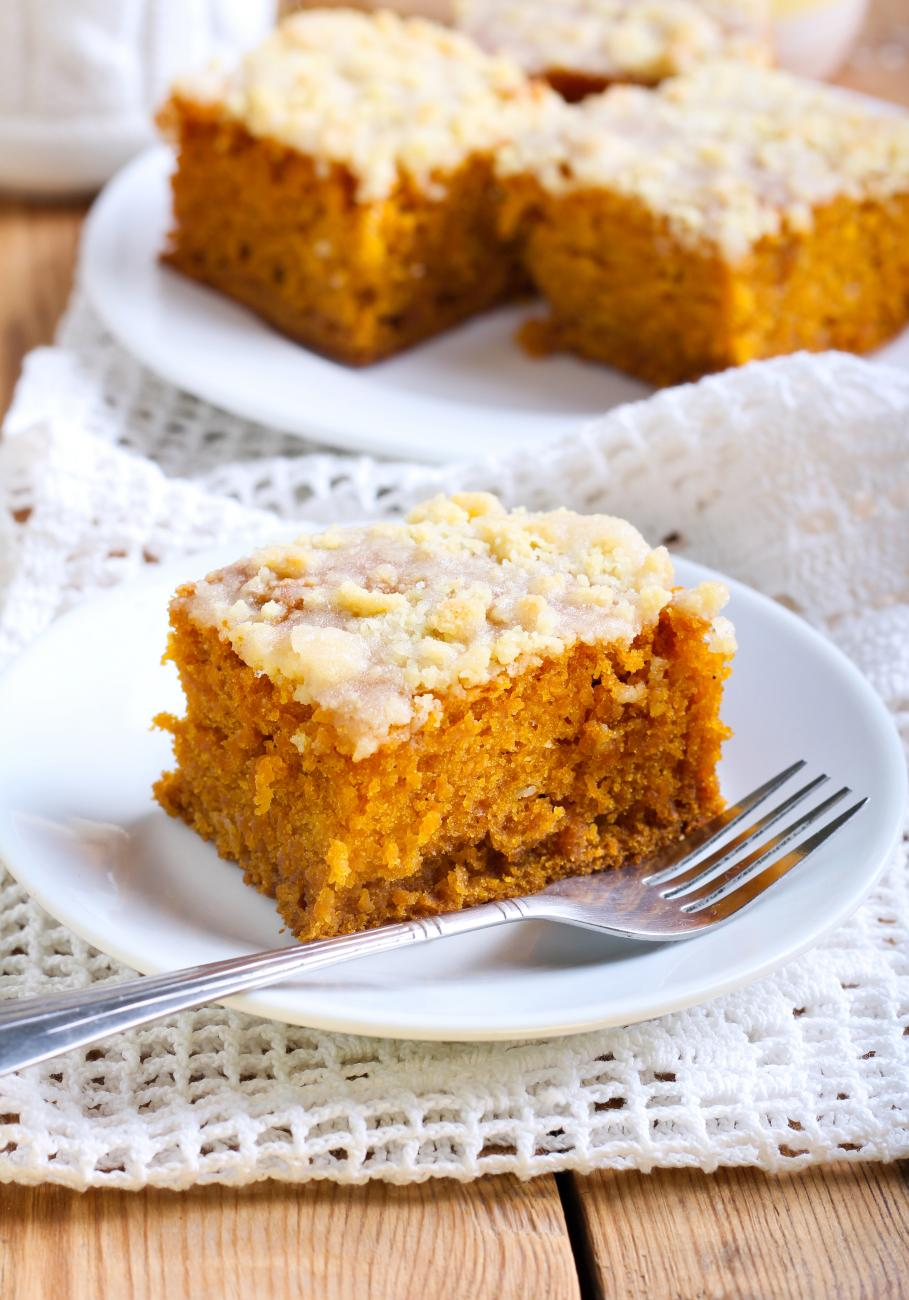 Recipe for Browned Butter Frosted Pumpkin Bars