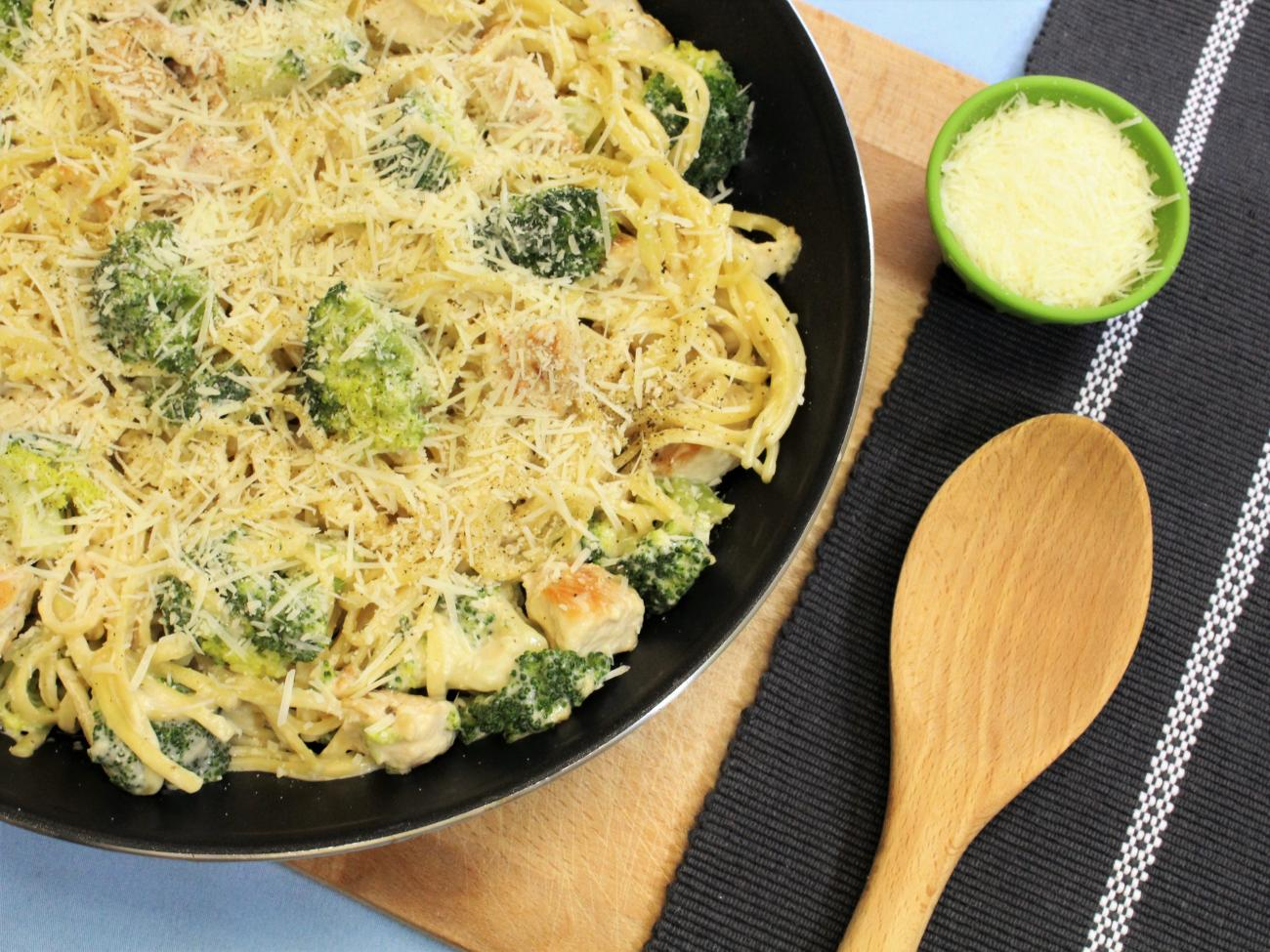 Recipe for Chicken and Broccoli Alfredo