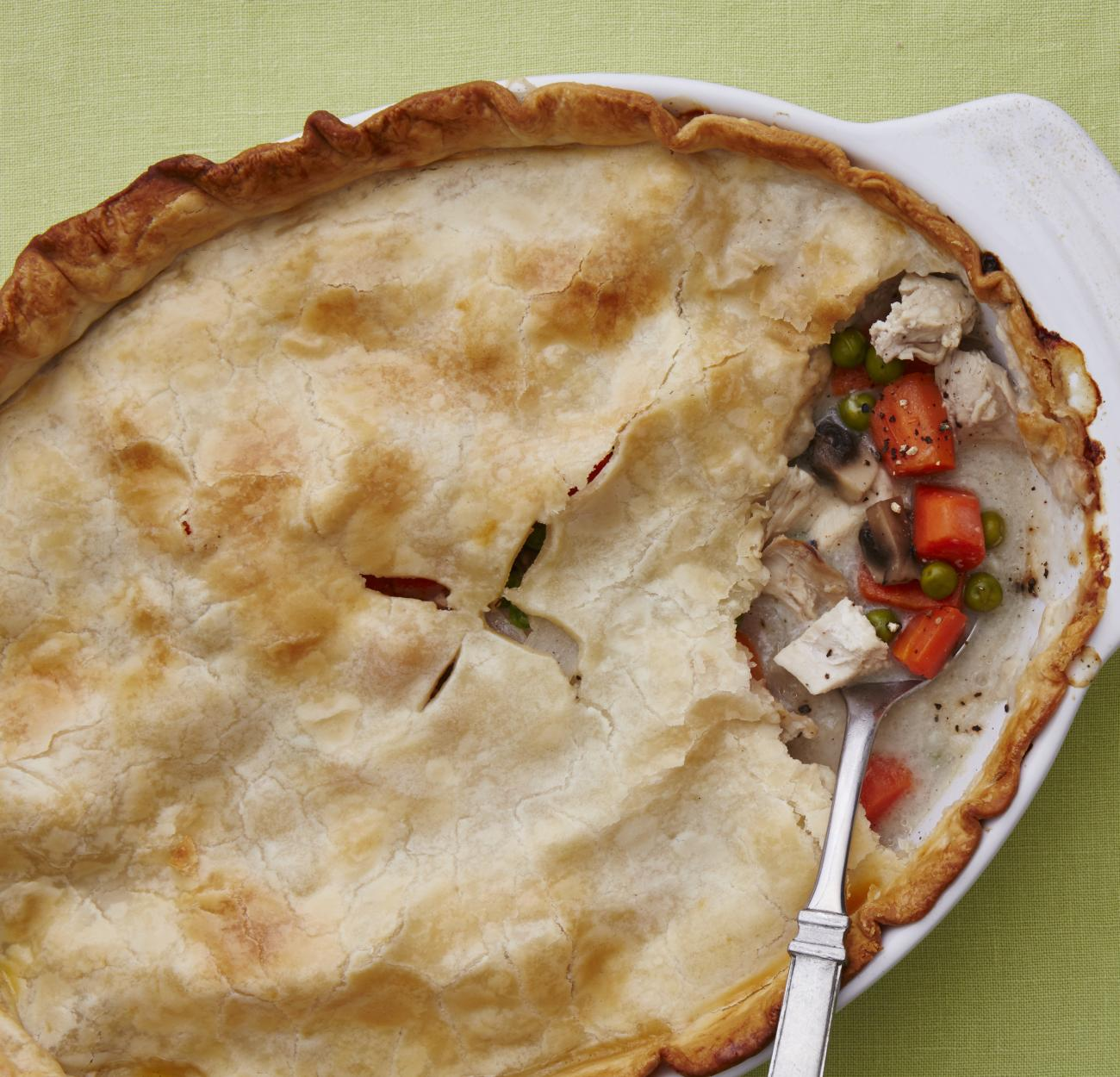 Recipe for Chicken Pot Pie With Vegetables