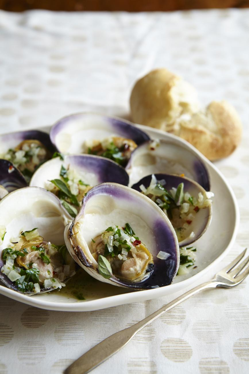Recipe for Clams A La Denise