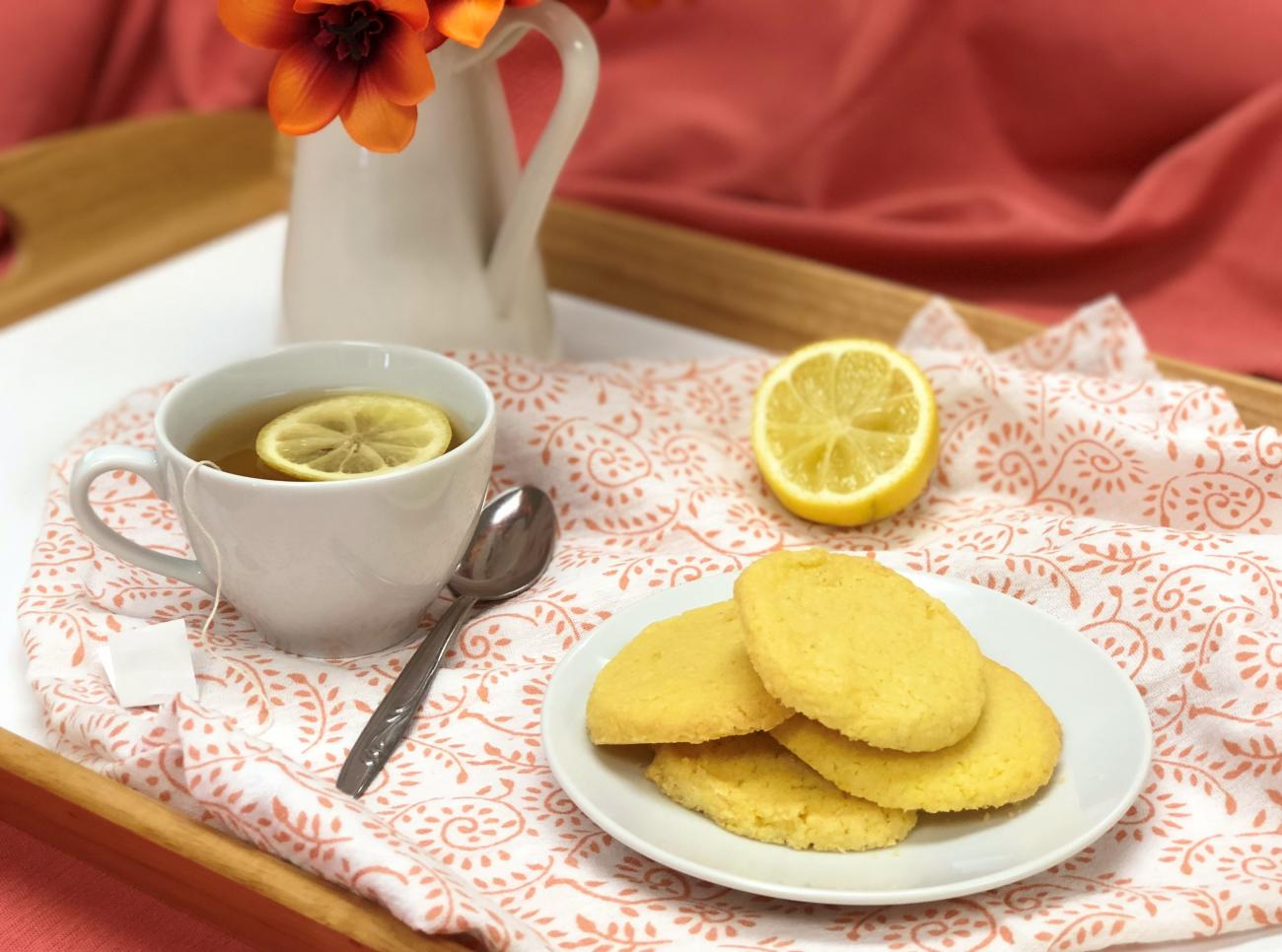 Recipe for Lemon Cornmeal Cookies
