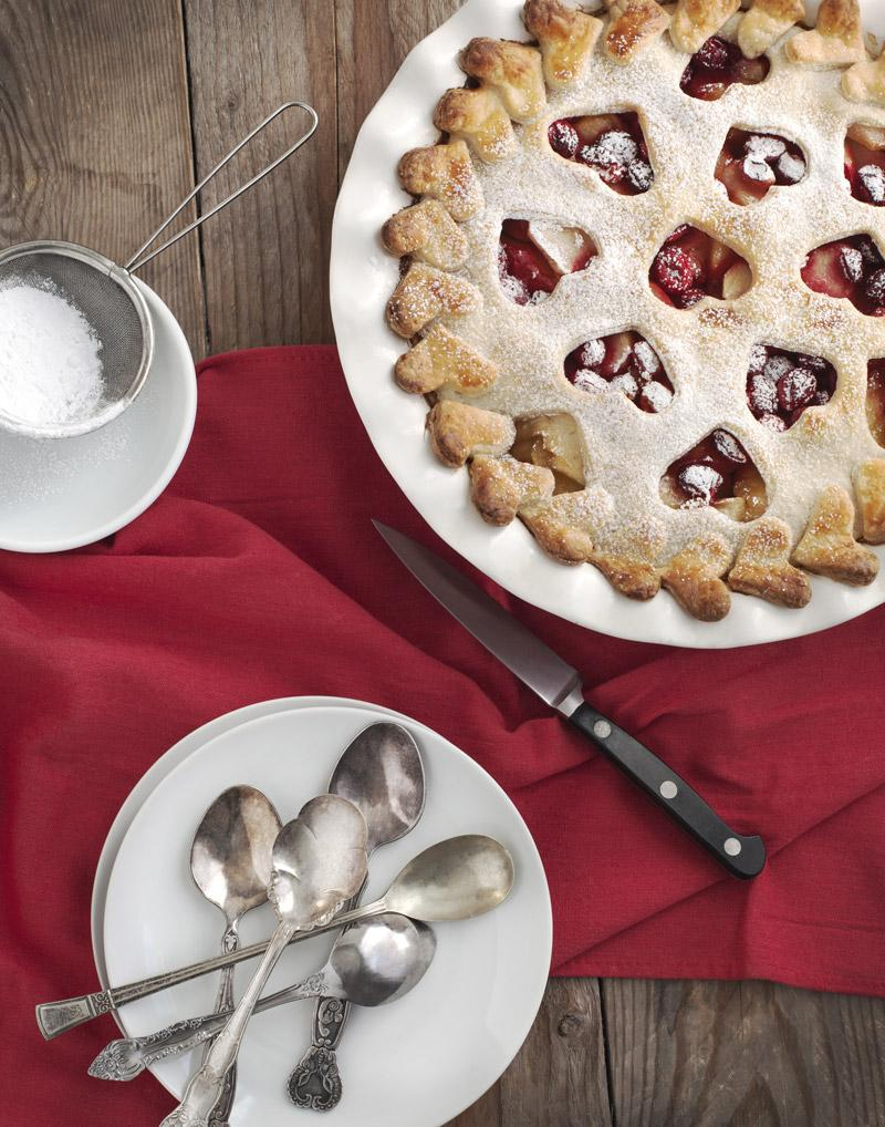 Recipe for Apple Quince Ginger Cranberry Pie