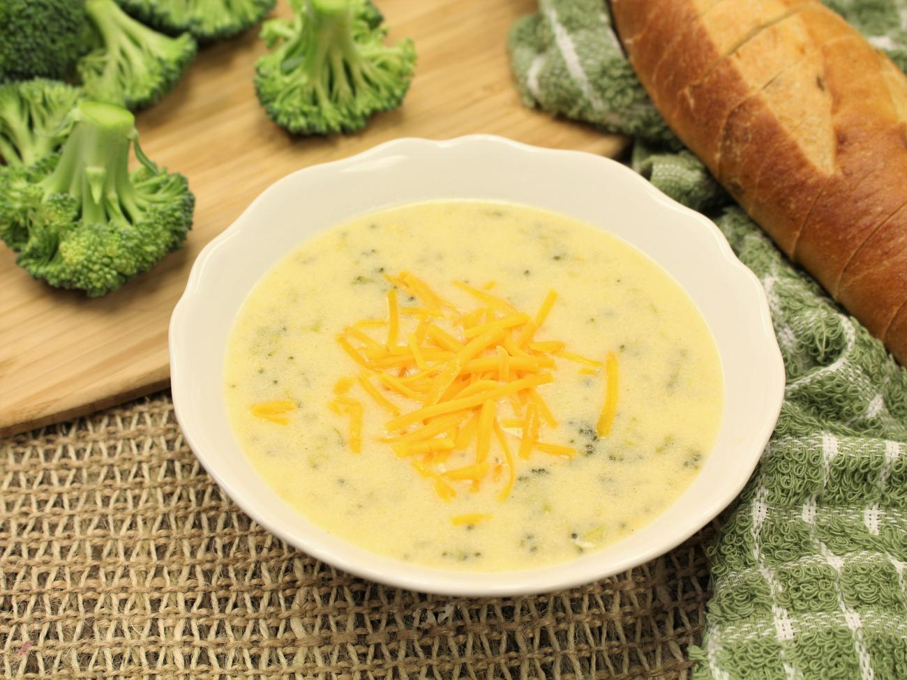 Recipe for Cream of Broccoli Soup