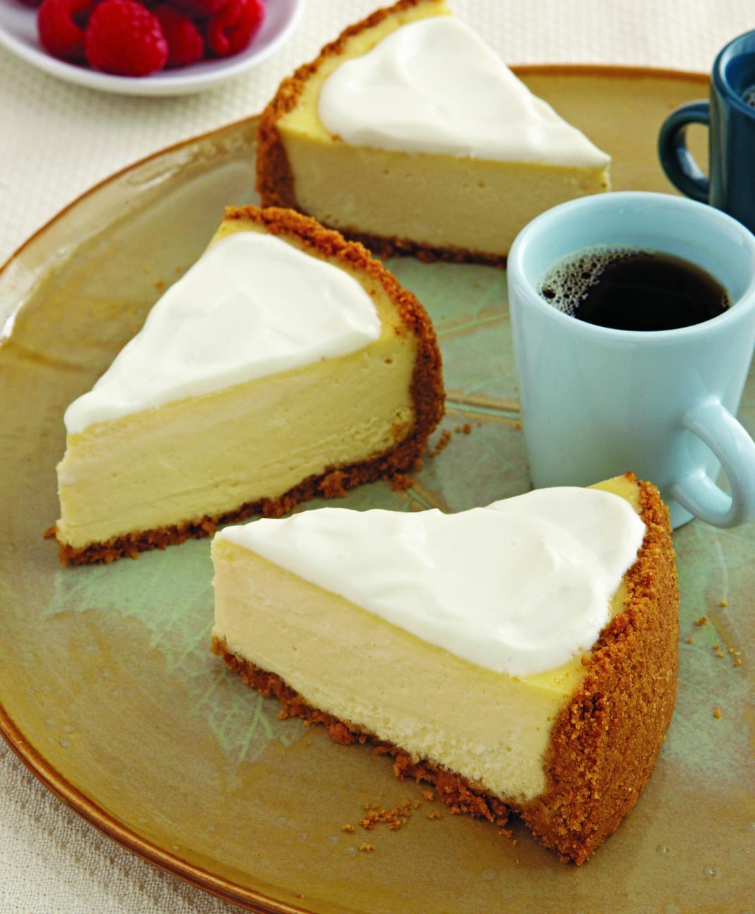 Recipe for Creamy New York–Style Cheesecake