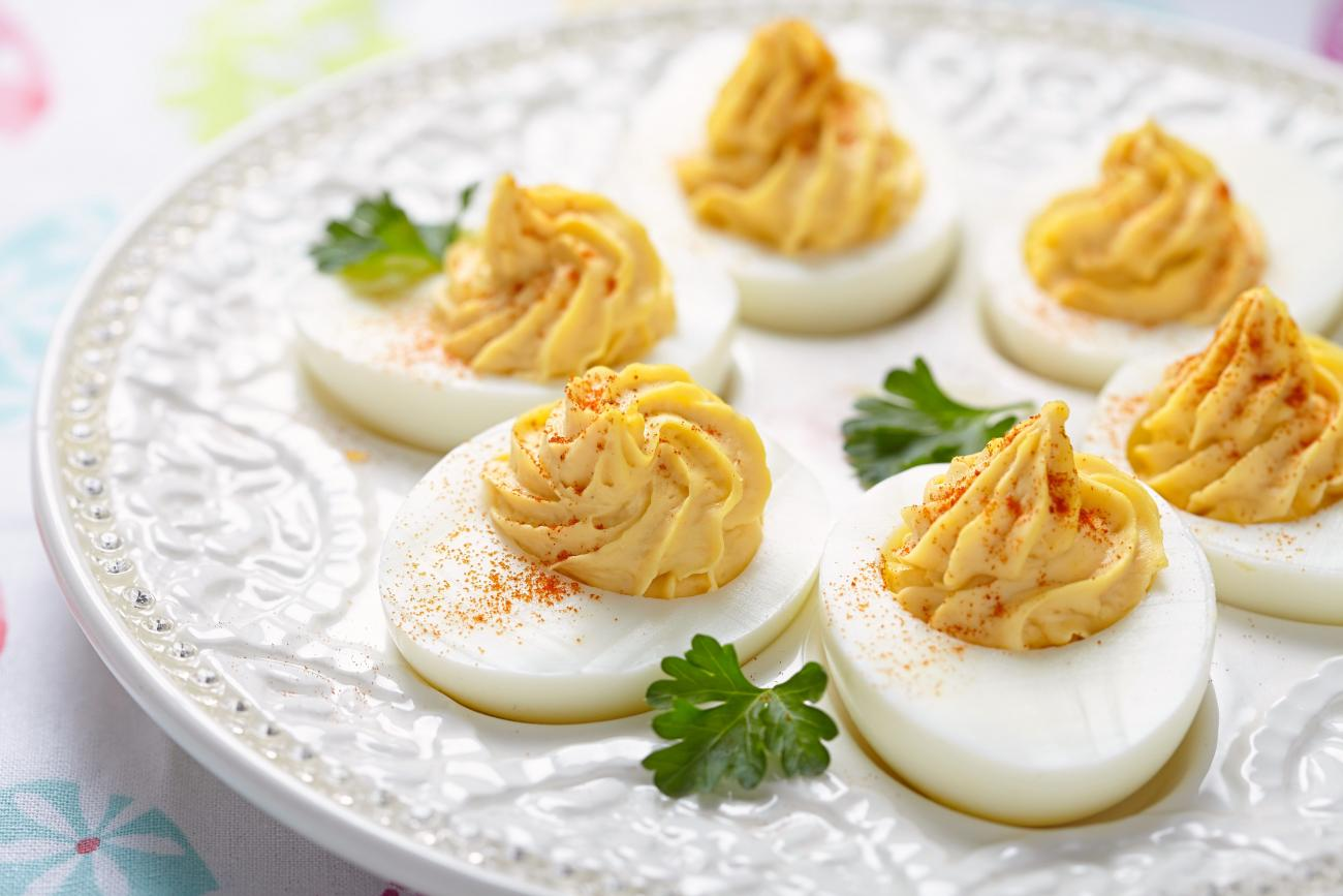 Recipe for Classic Deviled Eggs