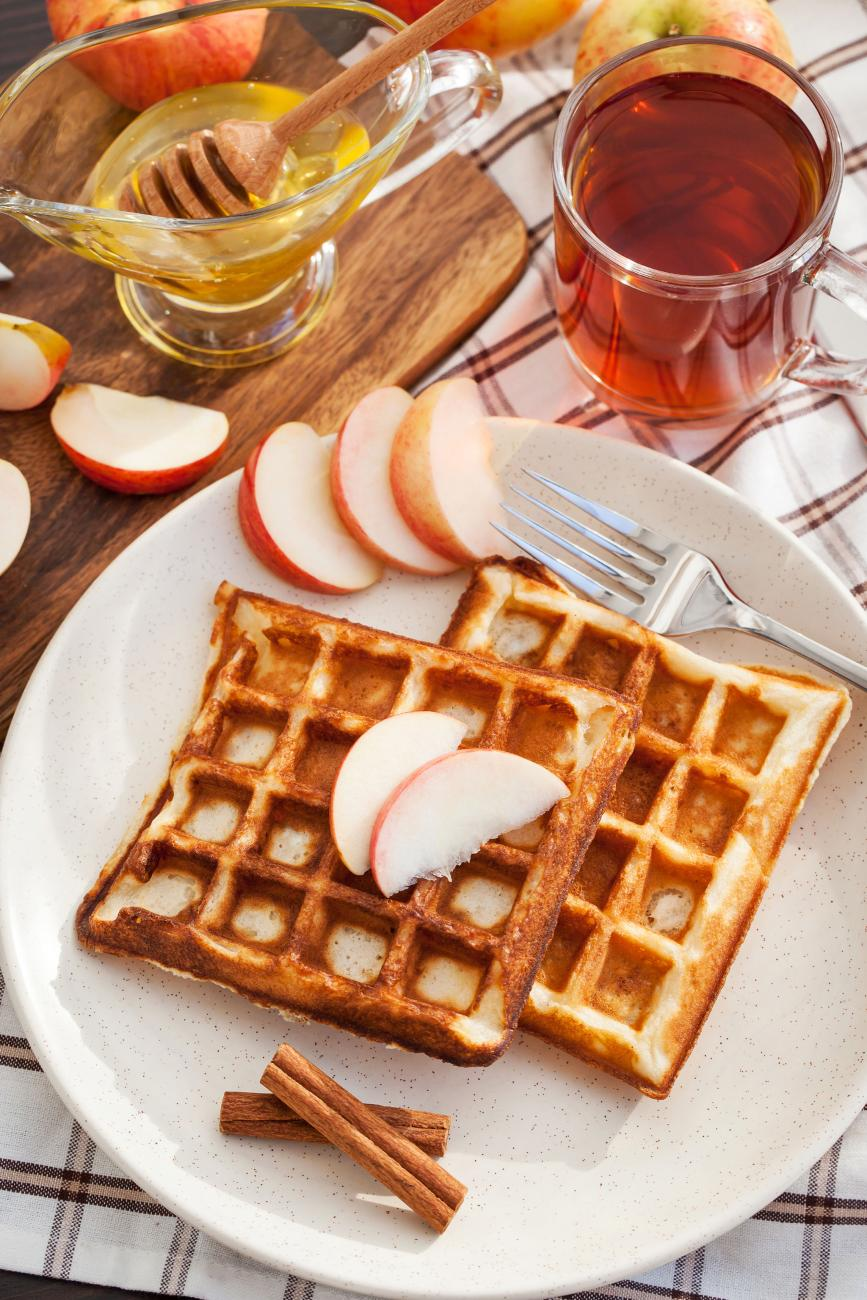 Recipe for Apple Cinnamon Waffles
