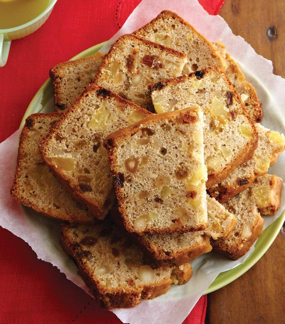 Recipe for Five-Spice Powder Fruited Cake