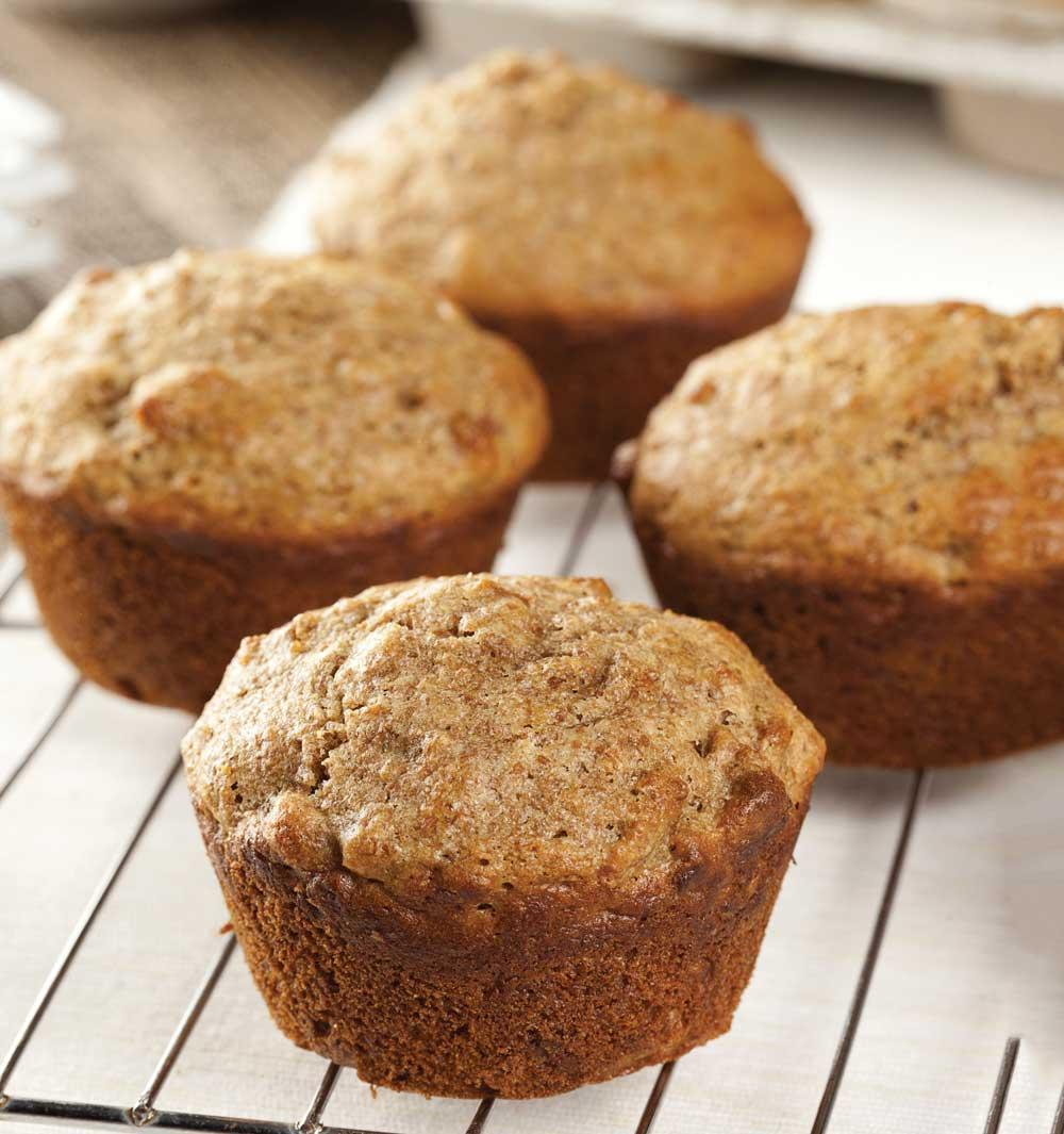 Recipe for Ginger Bran Muffins