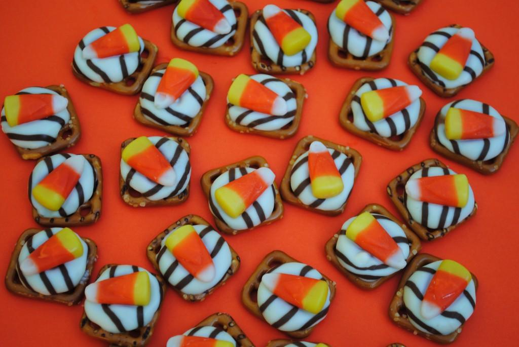 Recipe for Halloween Pretzel Treat