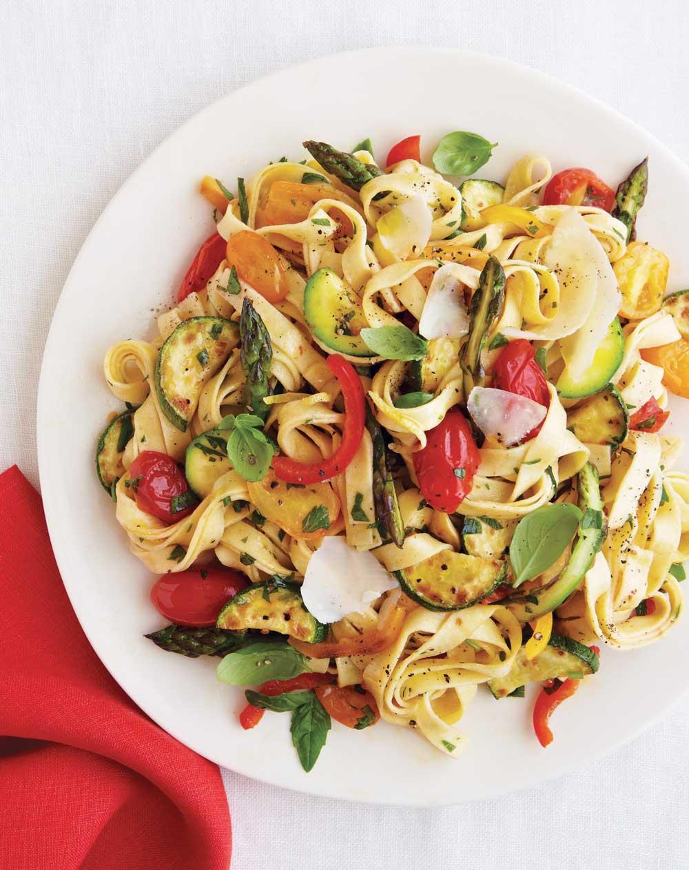 Recipe for Hearty Vegetable Pasta