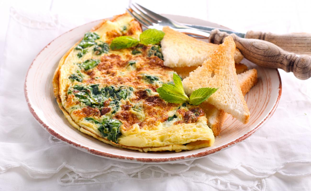 Recipe for Herb Omelet