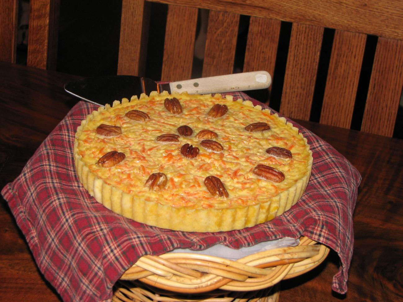 Recipe for Parsnip and Carrot Tart