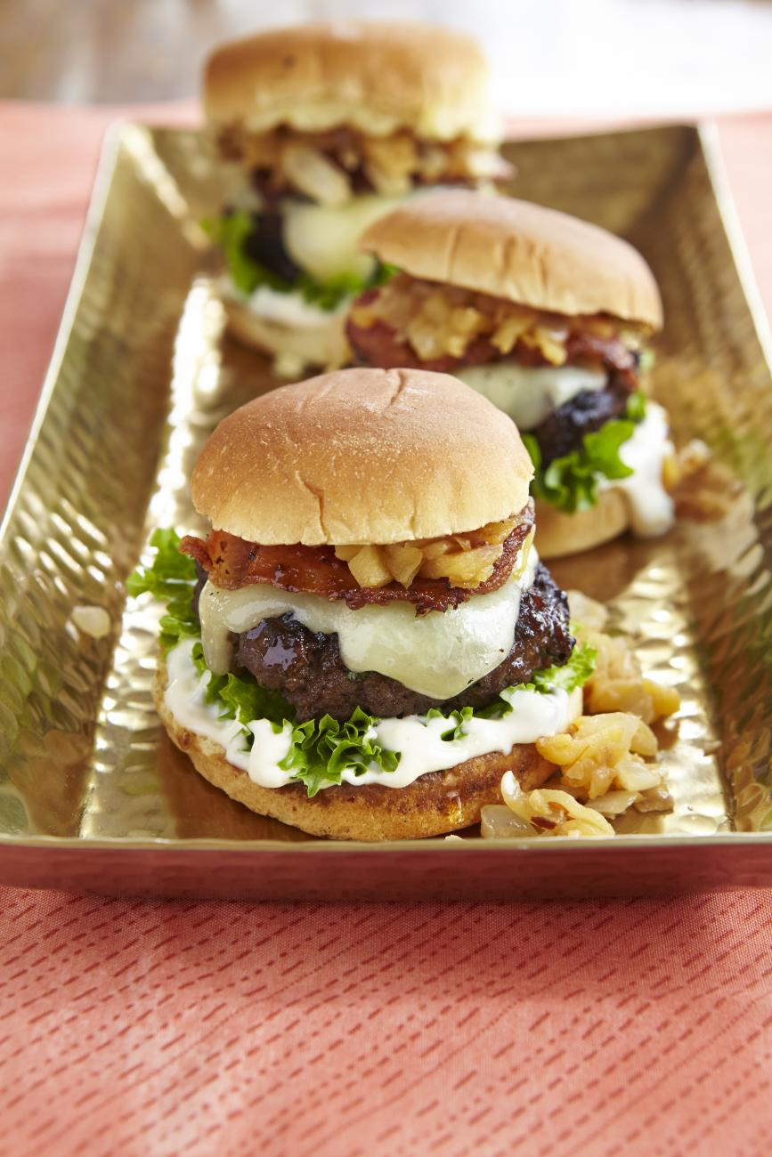 Recipe for Super Summer Burgers