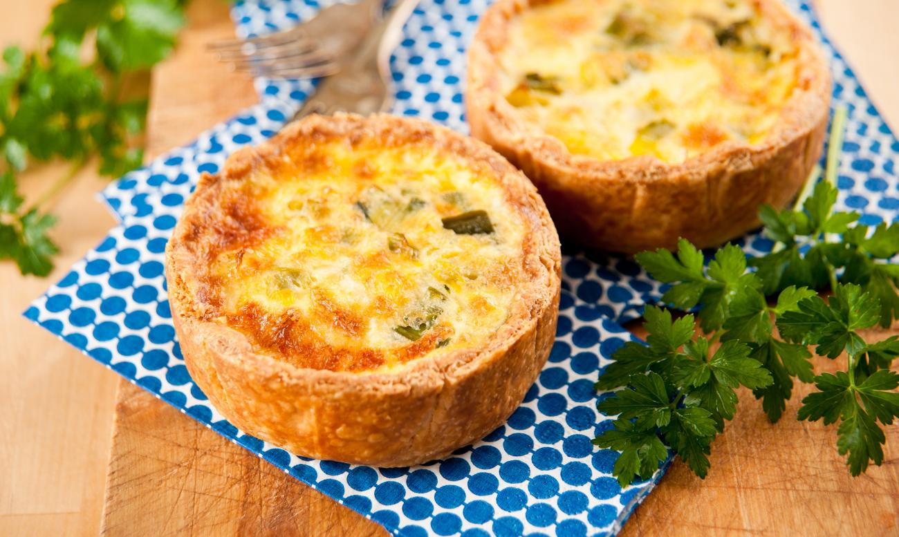 Recipe for Individual Party Quiches