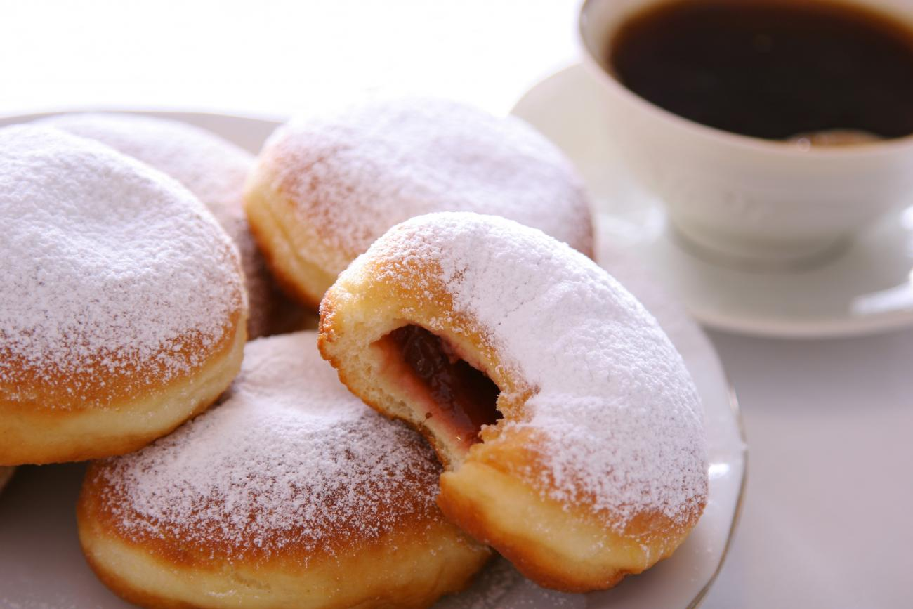 Recipe for Sufganiyot (Jelly Doughnuts)