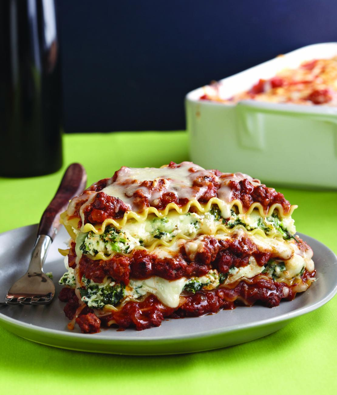 Recipe for Lasagna With Two Sauces