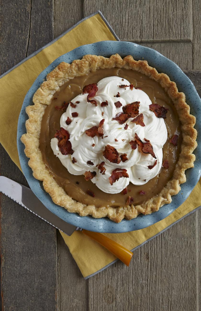 Recipe for Bacon Maple Cream Pie