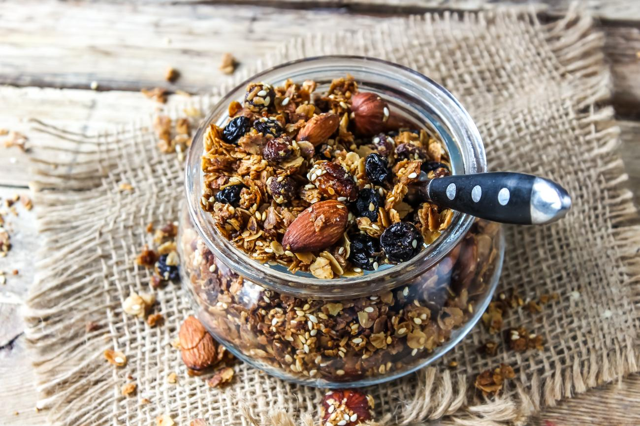 Recipe for Maple Granola