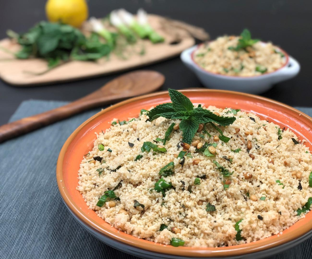 Recipe for Minted Couscous
