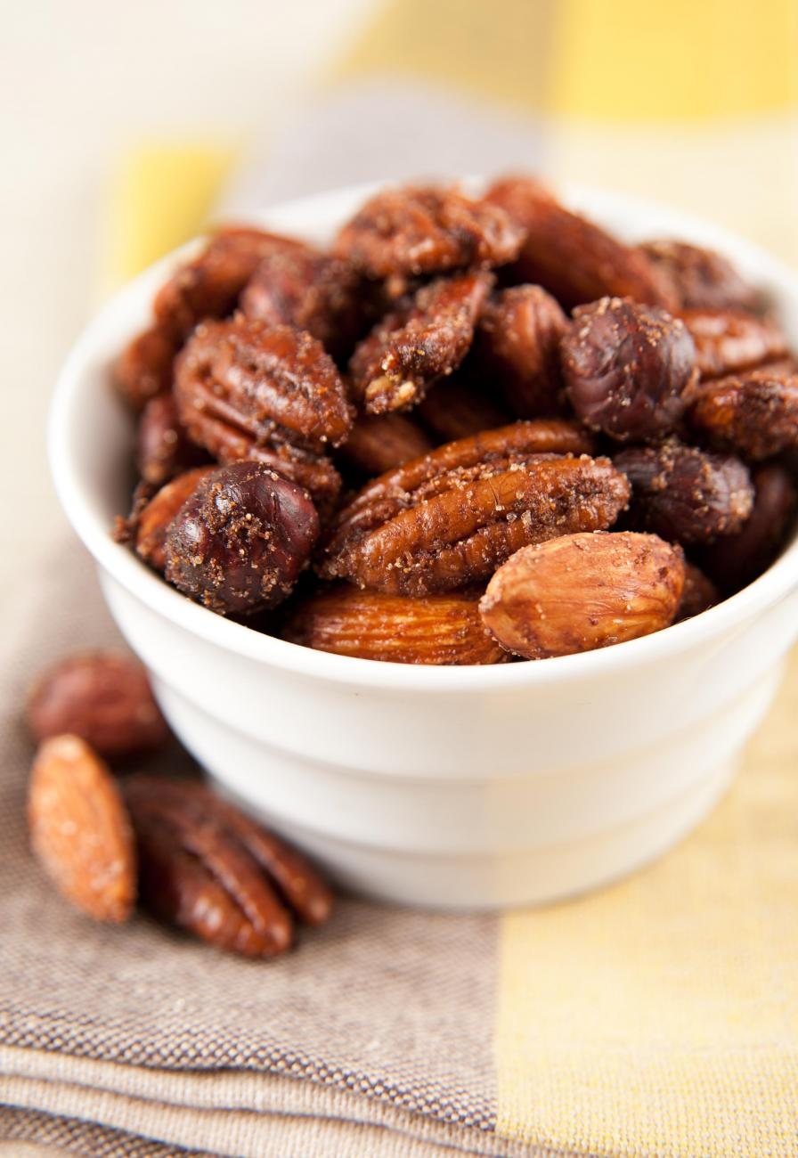 Recipe for Spiced Nuts