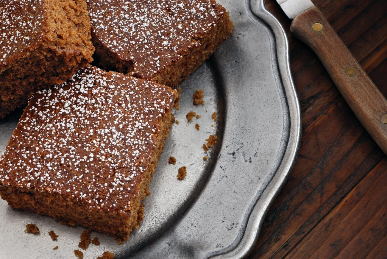 Recipe for Old-Fashioned Gingerbread