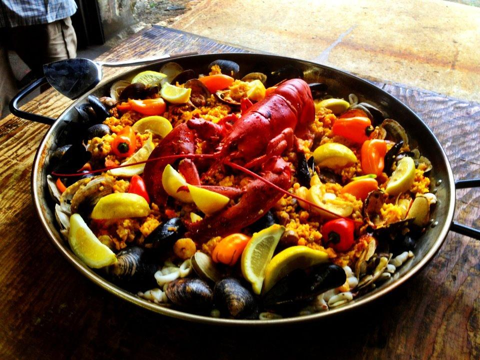 Recipe for Paella