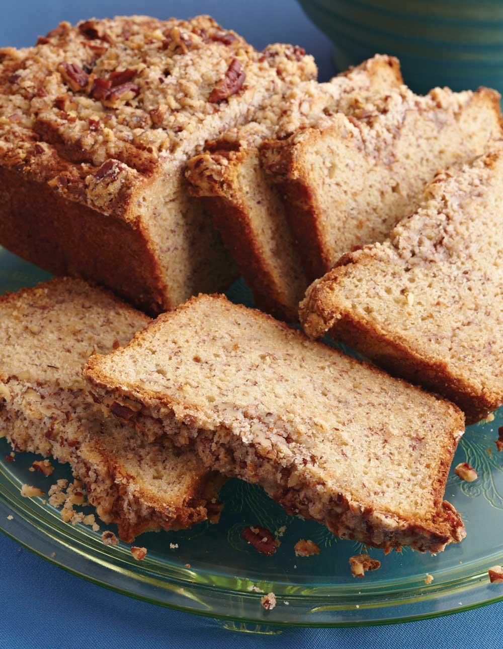 Recipe for Pecan Streusel Banana Bread