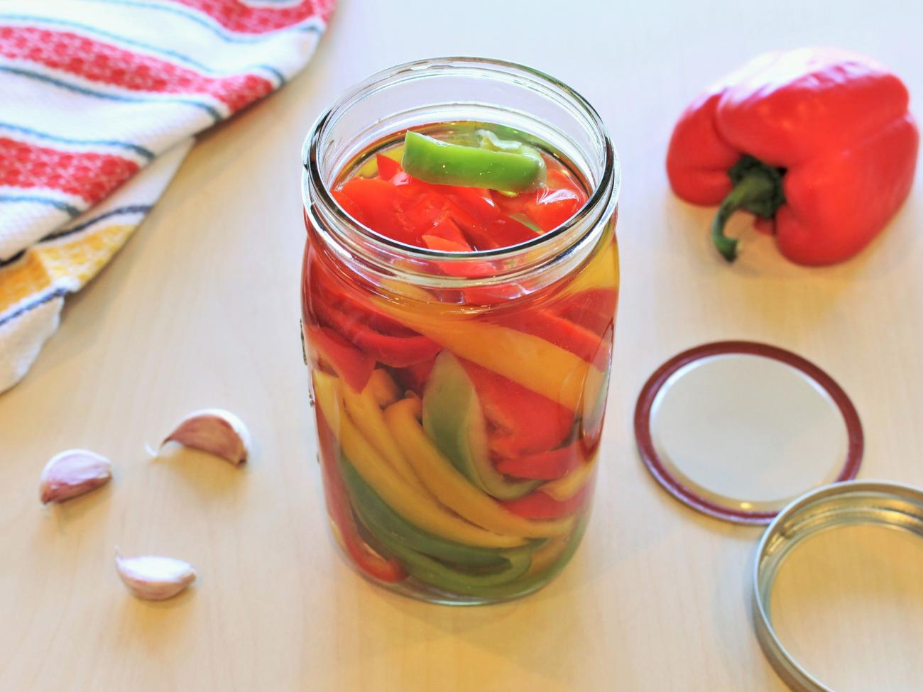Recipe for Pickled Peppers