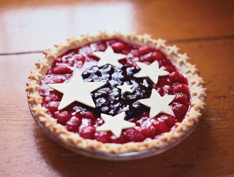 Recipe for Star-Spangled Berry Pie